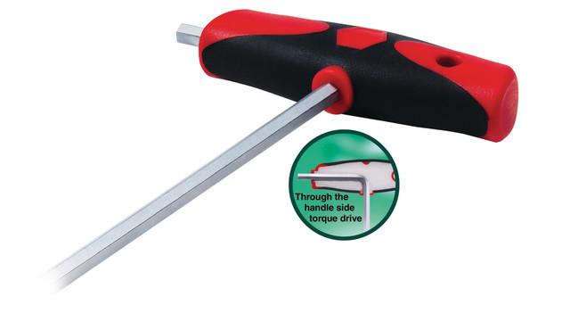 Soft grip T-handles