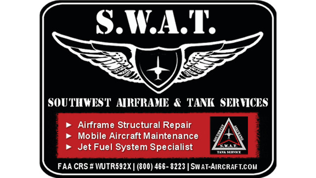 SWAT Fuel system repair