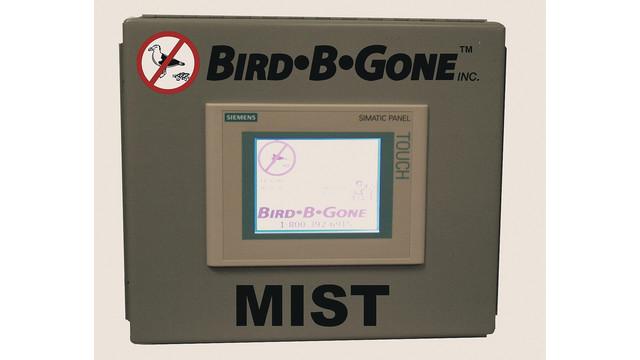 Bird control mist