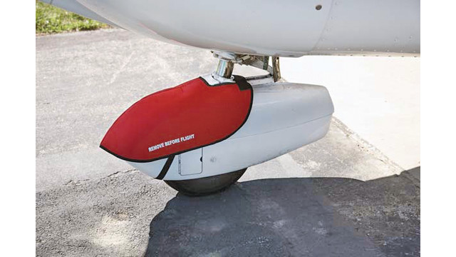 Wheel pant cover