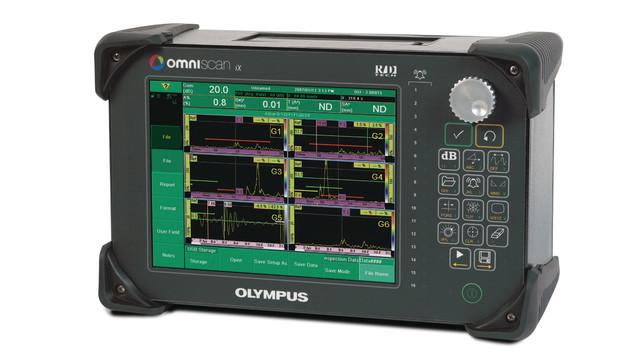 Industrial ultrasonic flaw detector system