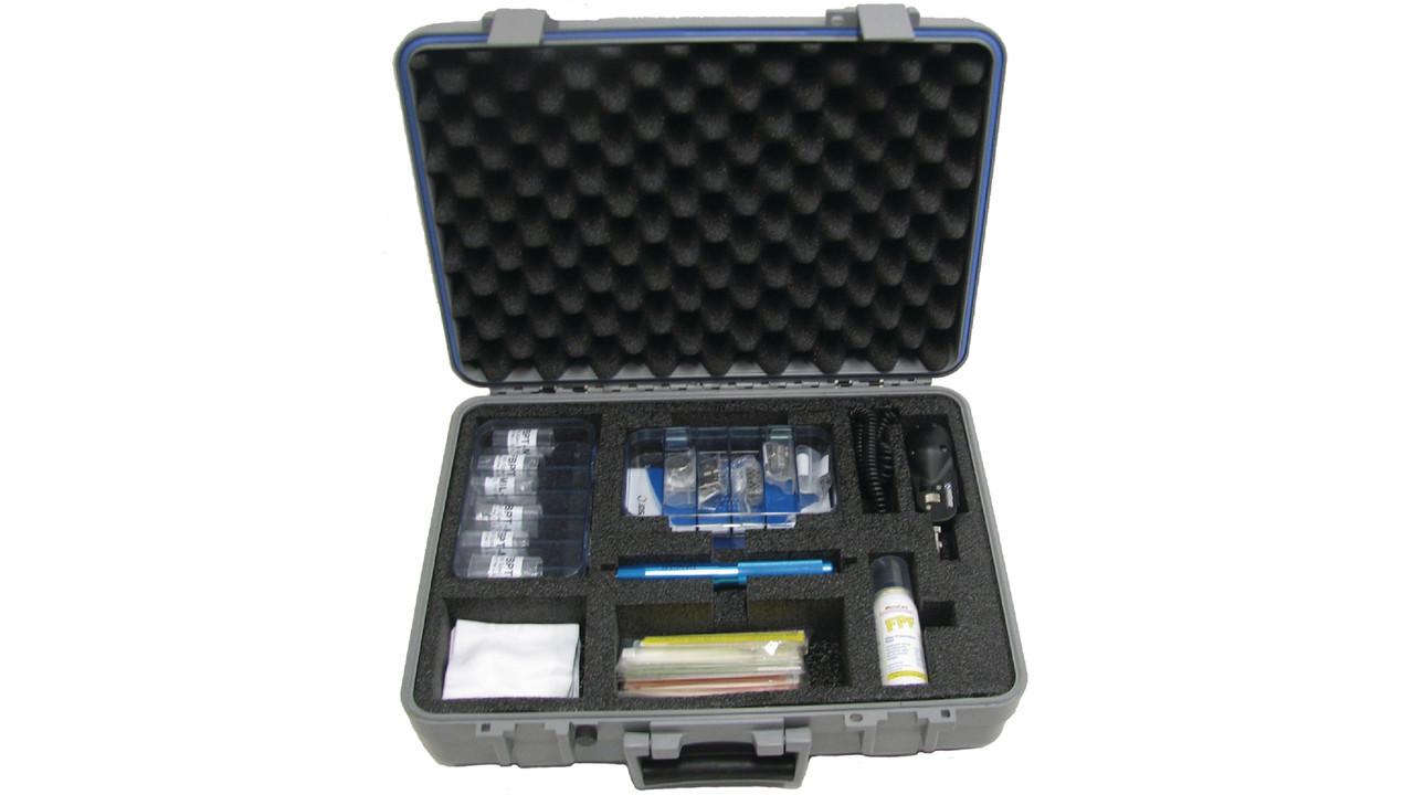 aviation fiber optic inspection  u0026 cleaning kit