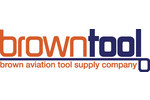 Brown Aviation Tool Supply provides sales and service of aircraft tools including Sioux, Chicago Pneumatic, Jiffy, Taylor, DOTCO, Ingersoll Rand, GageBilt, and General Pneumatic. Product warranty varies by manufacturer. Most pneumatic tools have a one-year manufacturer's warranty. For technical support contact Michael Brown, Angie Vails, or John Tyler at (800) 587-3883 or (405) 688-6888 or information@BrownTool.com. Hours: 8:30 a.m. to 5:30 p.m. Central.