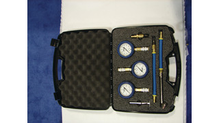 Tire pressure gauge set