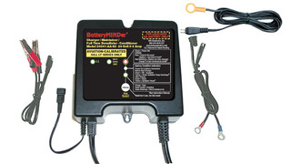 BatteryMINDer Aviation-Specific 24 Volt 24041-AA-S3 Maintenance Battery Charger - Desulfator (Hawker-Odyssey and Gill LT 7000 Series)