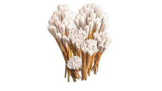 Cotton swab set