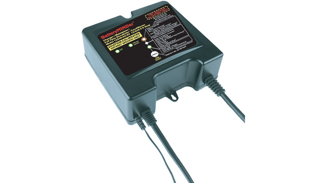 BatteryMINDer Aviation-Specific 12 Volt 12248-AA-S3 Maintenance Battery Charger - Desulfator (Odyssey & Gill)