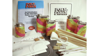 Polyfiber practice and repair kits