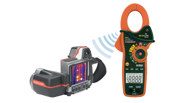 EX845 Meterlink clamp meter
