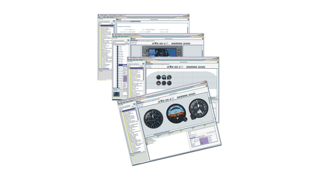 Instrument panel software