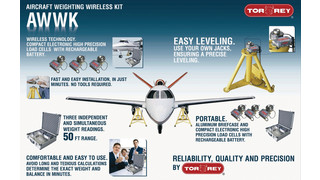 Aircraft Wireless Weighing Kit