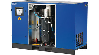 QGS line of rotary screw air compressors