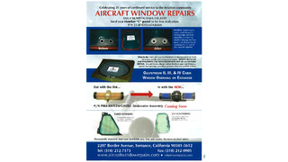 AWR window and lens repair/restoration