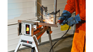 Jawhorse portable work station