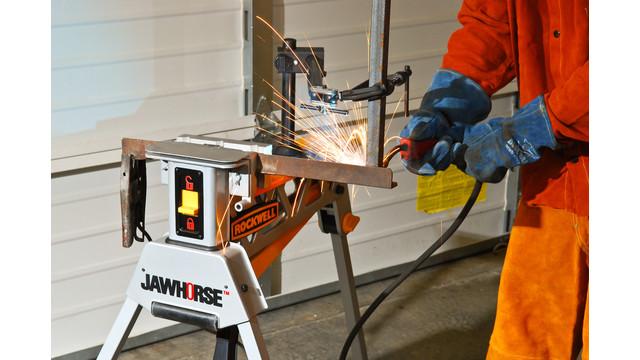 Jawhorse portable work station