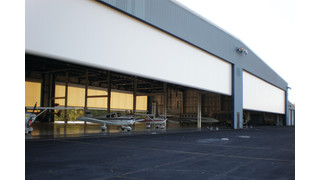 ParaPort aircraft hangar doors