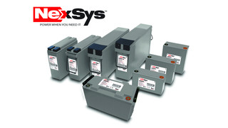 NexSys battery and charger