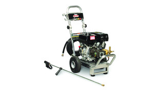 Gas-powered cold-waer pressure washers
