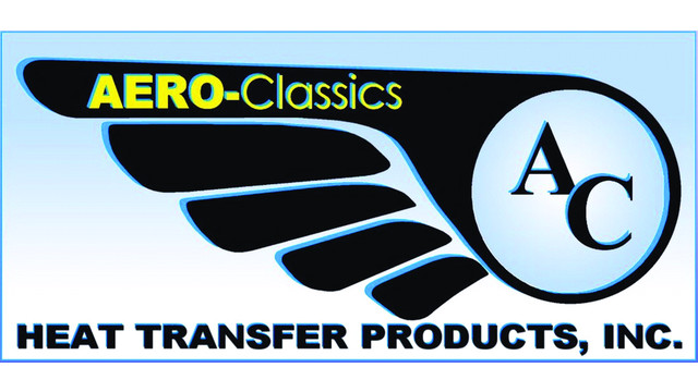 Aero-Classics Heat Transfer Products Inc.