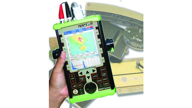 Raptor hand-held ultrasonic imaging flaw detector