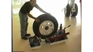 Alberth Aviation Hydraulic Wheel Dolly
