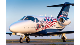Cessna Designates American Patriot Citation Mustang for Veterans Airlift Command Missions
