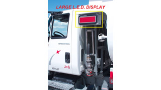 LED Digital Fuel Display