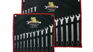 Combination/reversible-ratcheting wrench sets