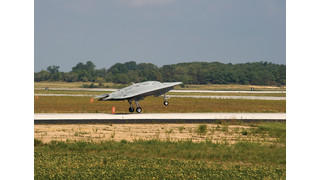 Navy Conducts Pax River's First Flight of X-47B Unmanned Aircraft