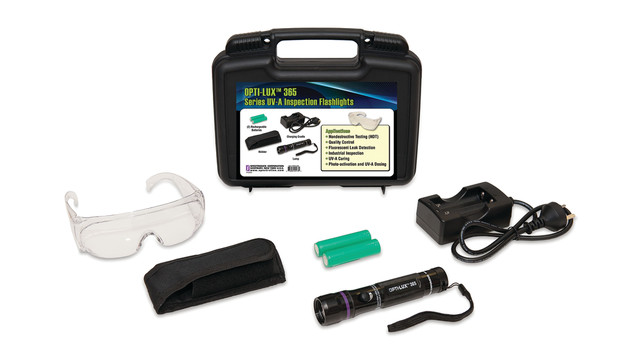 Enhanced UV LED Leak Detection Flashlight