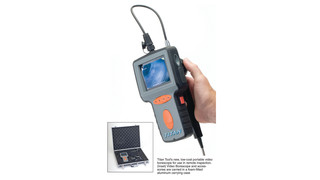 Portable video borescopes