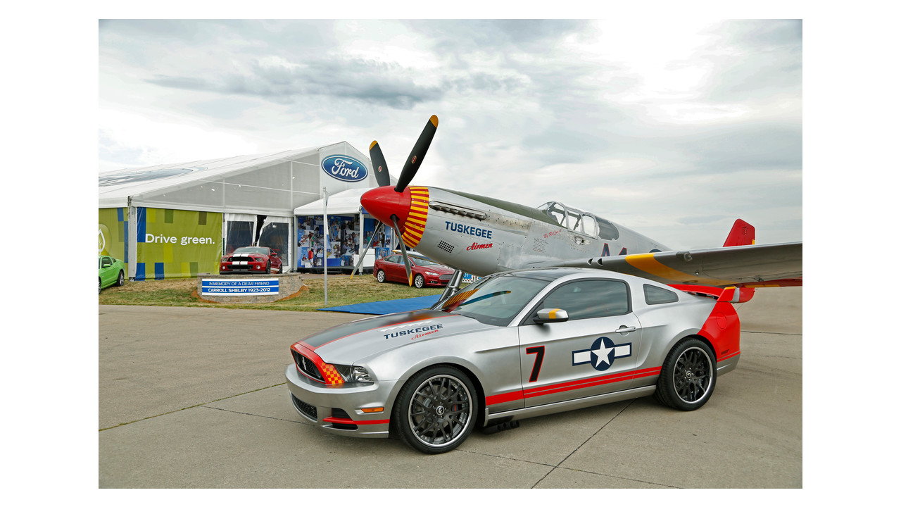 Ford Red Tails Edition Mustang Raises 370 000 To