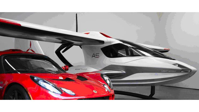 ICON Aircraft Collaborates with Lotus Engineering on Production Design of the A5