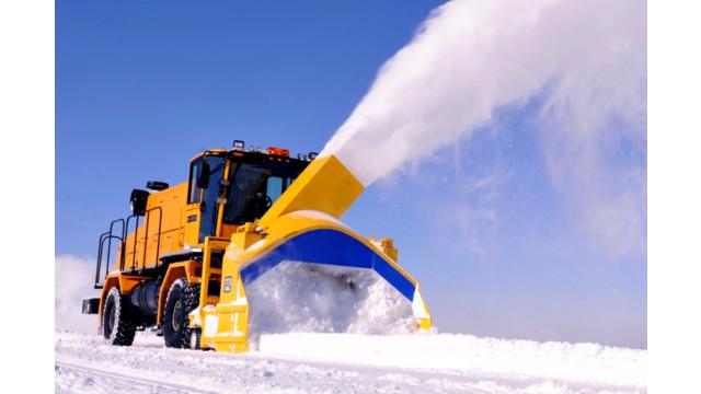 Wausau Bab High Speed Runway Snow Blower