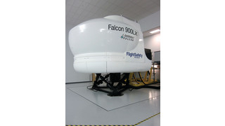 FlightSafety's New Dassault Falcon 900 EASy Series Aircraft Simulator Receives Level D FAA and EASA Qualification