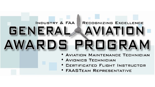2012 National General Aviation Award Winners Named