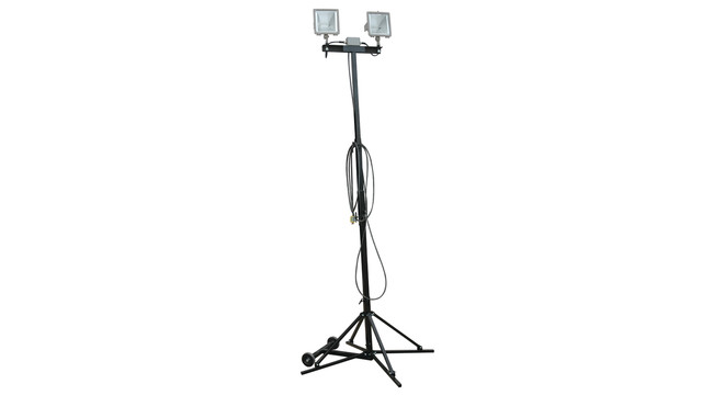 Collapsible light tower