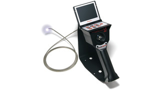 Joystick-controlled borescope
