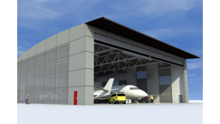 EDT Offshore chooses Megadoor for new hangar complex