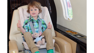 Gama Infant Safety Seat Launches into Business Jet Market at EBACE 2012