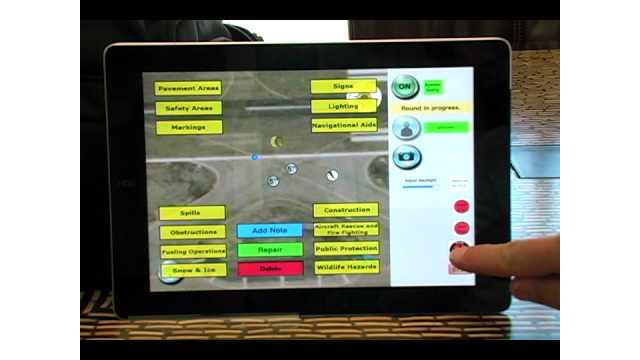AIR Boss airfield inspection and management system