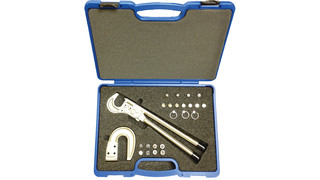 Rivet squeezer kit