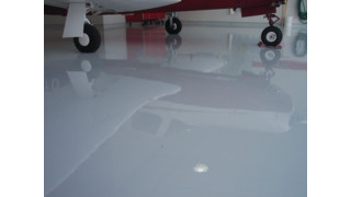 Hangar floor coatings