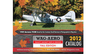 Introducing Wag-Aero's 2012 Fall Edition Catalog