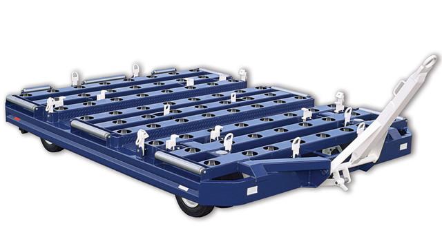 Inverted Caster Bed