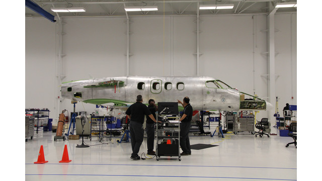 Embraer's New Executive Jet Assembly Facility