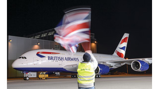 British Airways' First A380 Receives its Airline Colors