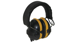 NoiseBuster Active Noise Reduction Safety Earmuffs - Over-the-Head, Behind-the-Head, Hard Hat/Cap Mount