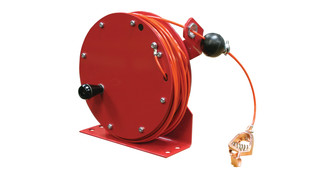 Hand Crank Static Discharge Reel