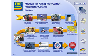 King Schools Partners with Helicopter Association International to Release First Ever Online FIRC Especially for Helicopter Flight Instructor Renewals